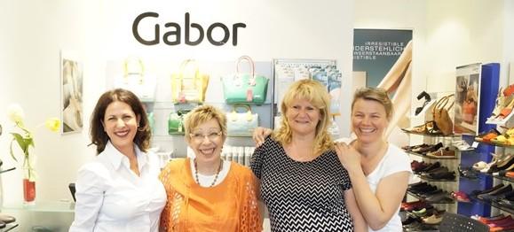 Unsere Mädels im Gabor Shop – viel Spaß!