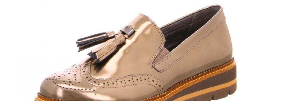 Der Herbst startet mit Dandy-Sneakern in metallic und LACK!